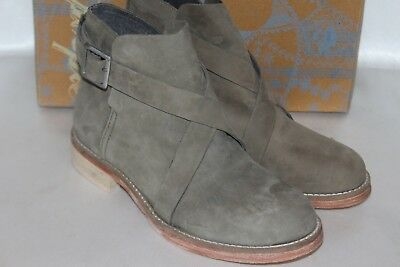 NEW! FREE PEOPLE Anthropologie Sage Green Suede LAS PALMAS Ankle Boot EU36 $168 - Sage Green Boot
