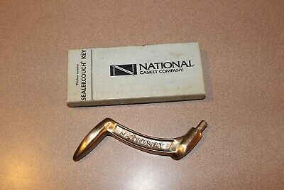 MIB Metal National Casket Co Sealercouch Key Funeral Mortuary Coffin