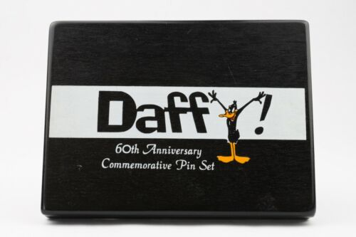 Warner Bros Daffy Duck 60th Anniversary Commemorative Pin Set