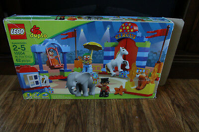 Lego Duplo My First Circus w/ Box & Instructions 10504