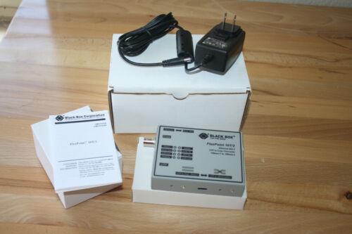 Black Box LMC210A Transceiver - 10Base-T, 10Base-2 (coax) - for FlexPoint NOB
