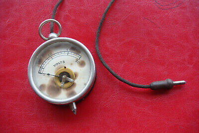 Antique 1920 Voltmeter - Works Excellent Condition