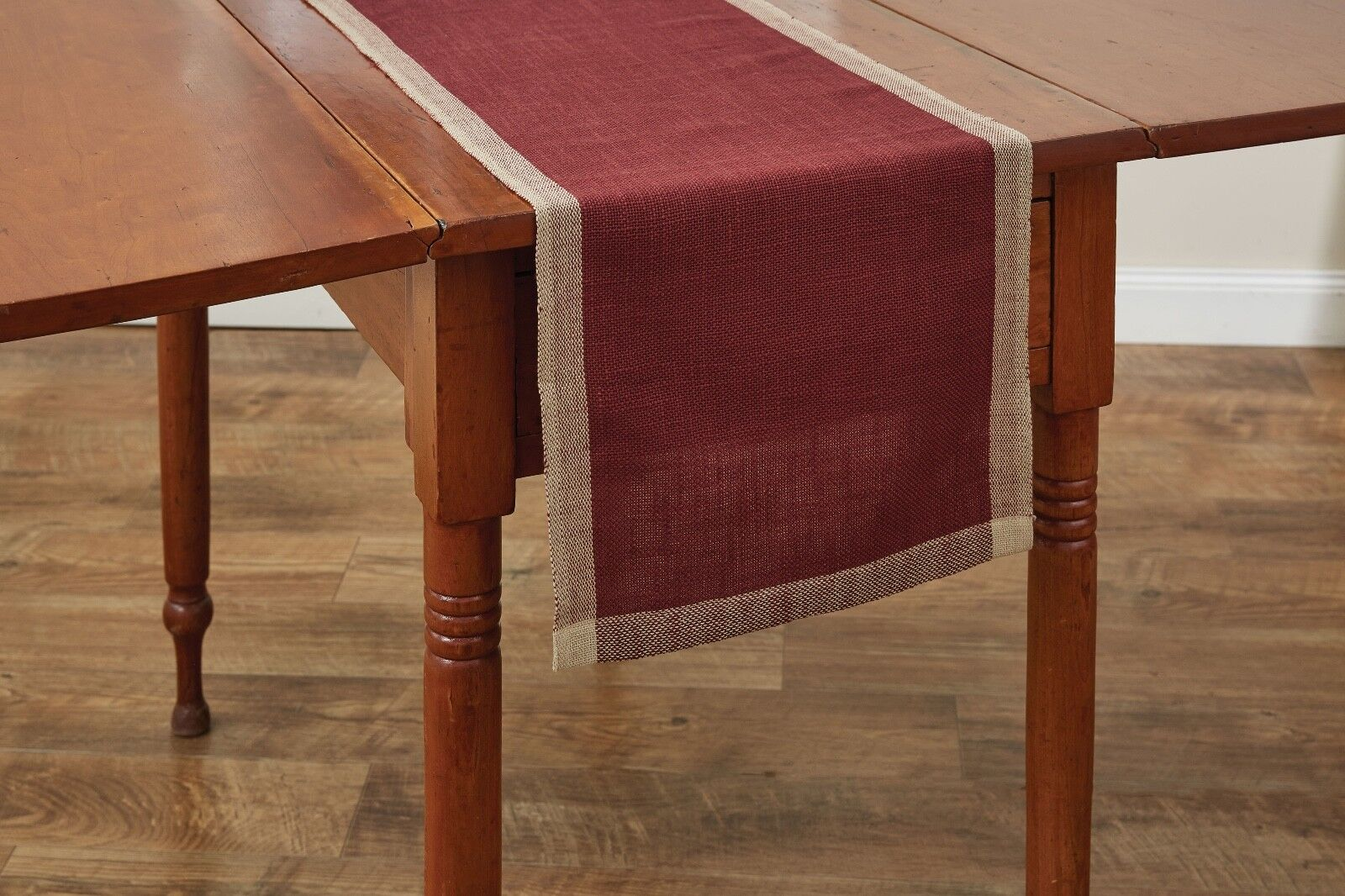 "Table Runner 54"" L - Parker in Wine by Park Designs - Burgun"