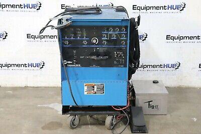 Miller Syncrowave 250 Amp Tig Welder W Tig-er Dynaflux Torch Cooling System
