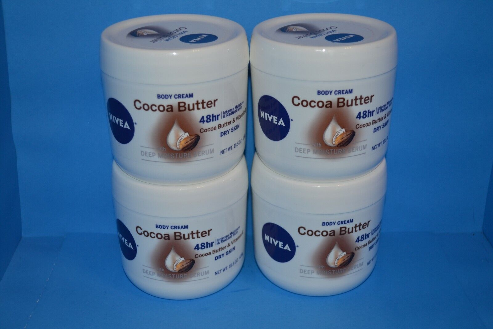Nivea Cocoa Butter Body Cream, 15.5 Ounce New