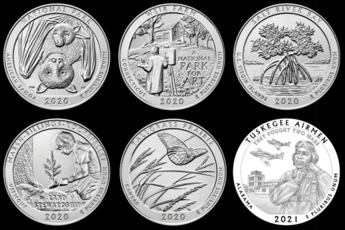 "2020/2021 Receive All 6 National Parks ATB ""BU"" Quarters **SUBSCRIPTION SALE**"