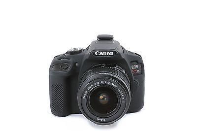 Camera silicone cover for Canon EOS REBEL T6 (EOS 1300D) Black