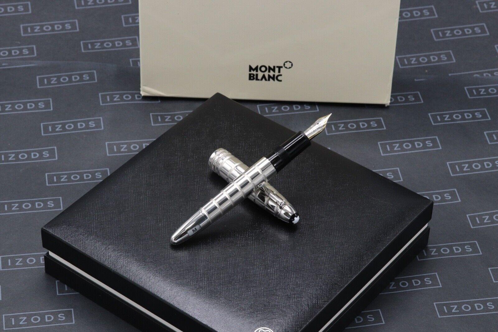 Montblanc Meisterstuck LeGrand Platinum-Plated Facet Fountain Pen