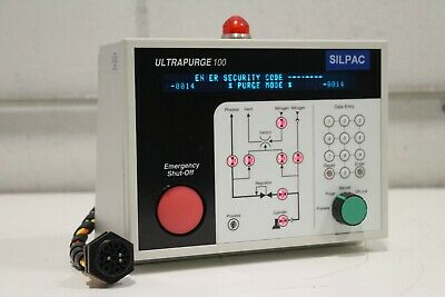 Silpac Up100 Ultrapurge 100 Gas Cabinet System Controller Sp-rpxss2pax-arspl