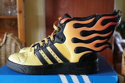 Jeremy Scott Limited Edition Adidas Flame Wing Hi Top Trainers UK 5 Rare Unisex