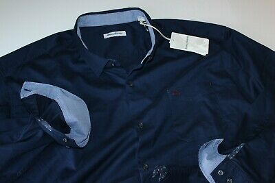 Tommy Bahama Shirt Oasis Twill BT323482 Blue Note LS New XXXX-Large 4XL Tommy Bahama Oasis