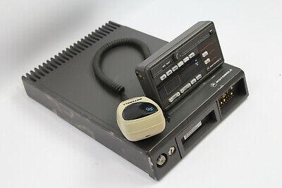 Motorola Maratrac T81xta7ta7bk 100 Watt Vhf Low Band Radio Whead Unit Mic
