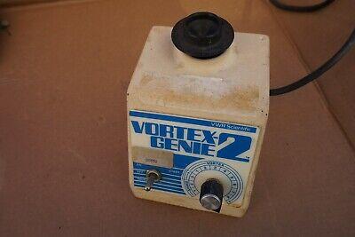 Vwr Vortexer Vortex Shaker Mixer Used Lab  Rotator Mini Touch Genie 2 Veebr