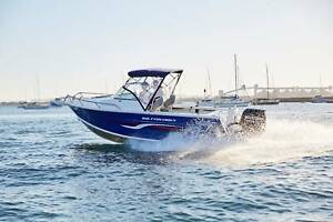 NEW QUINTREX 610 FISHABOUT WITH 175HP SUZUKI