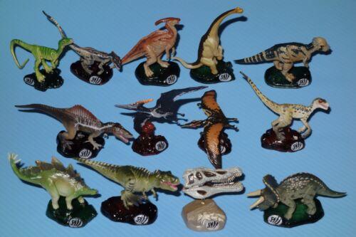 Jurassic Park 3 Action Figure Collection Complete Set of 12 +Skull Kaiyodo Japan