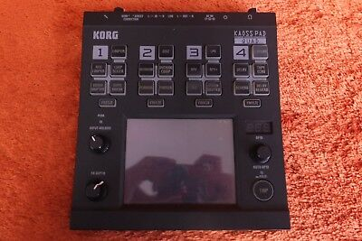 USED Korg KP-QUAD KAOSSPAD Dynamic Effect Sampler sequencer worldshipment 180306