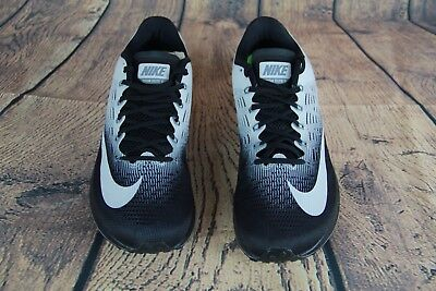 9e4b3a960271 Nike WMNS Air Zoom Elite 9 Women Running Shoes Black White-Grey 863770-001  Sz 10