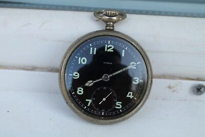 Antique pocket watch HUBER (HELVETIA)