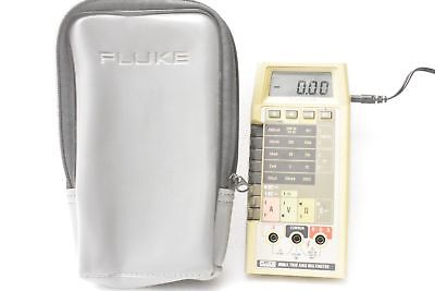 Fluke 8060a True Rms Multimeter With Padded Soft Carrying Case Excellent Cond.