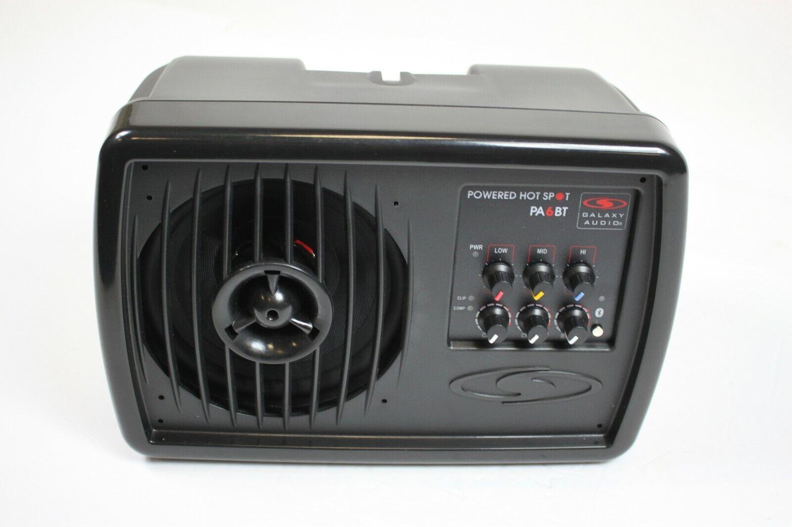 Galaxy Audio Powered Hot Spot Personal Monitor PA6BT- Parts or Repair #R7678