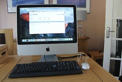 Apple Imac A1224 Model El Capitan 2008