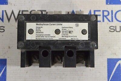 Westinghouse Current Limiter El3050 50 Amp 600 Volt El3050