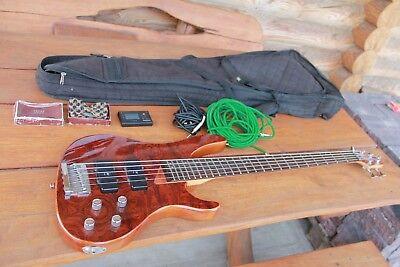 Electro Guitar Washburn XB-500 5 string bass