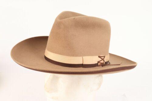 Vintage 30s MILLER BROS XXXX Western Cowboy Hat Fedora USA Mens Size 6 7/8