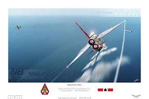 English Electric Lightning F.6, 5 Squadron RAF Akrotiri APC. Digital Art Print