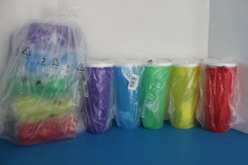Tupperware Healthy LUNCH All Week Set~!6 oz Tumblers~Sandwich Keepers~5 Colors~