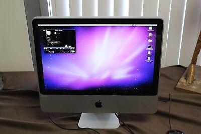 """Apple iMac 20-Inch """"Core 2 Duo"""" 2.4 GHz, 1GB Ram, 250GB Storage"""