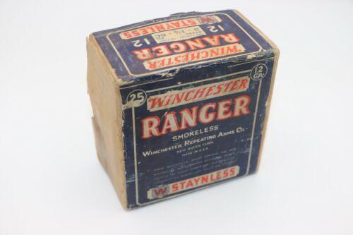 Winchester Ranger Staynless 2-Pc. Shotgun Shells 12 Gauge - EMPTY