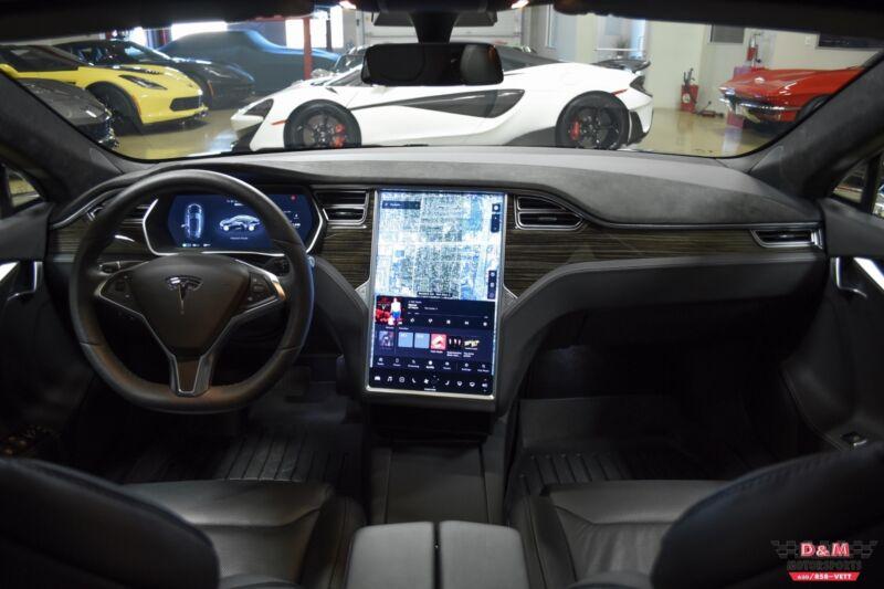 Image 22 Coche Americano usado Tesla Model S 2017