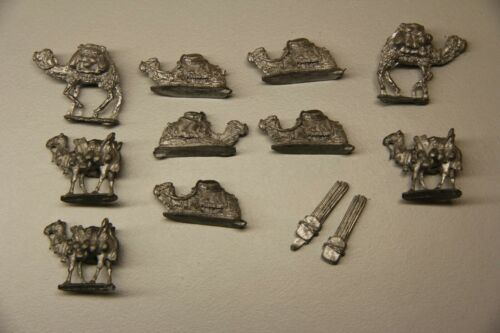 15mm Camels caravan artillery Wargames Tracking/Expedited mail