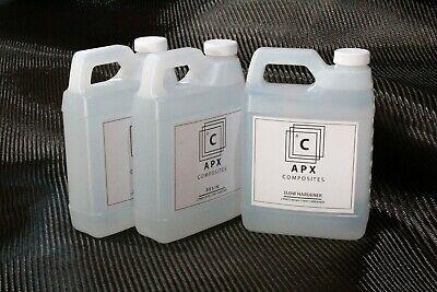Apx Clear 2000 34 Gallon 96 Oz Slow Hardener Carbon Fiber Epoxy Resin