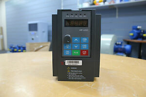 1.5/2.2kw 2/3HP 4.5/6A 415V AC 3 phase variable frequency drive inverter VSD VFD