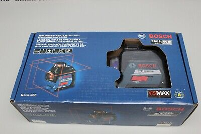 Bosch 360 Degree Three-plane Leveling And Alignment-line Laser Gll3-300