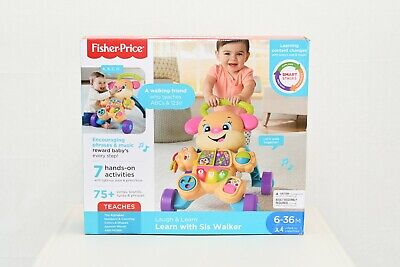 Fisher-Price Laugh & Learn Smart Stages Learn with Sis Walker New