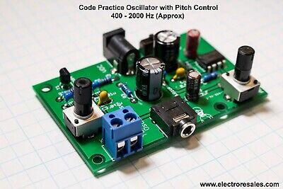 Ham Morse Codetelegraph Cw Practice Oscillator - With Pitch Control