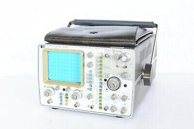 Hp Hewlett Packard 1715a Oscilloscope 200 Mhz Electronic Equipment