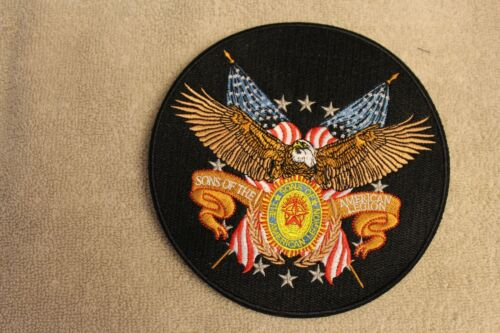 Sons of The American Legion SAL 6 inch patch New