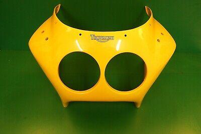 TRIUMPH DAYTONA NOSE CONE COCKPIT 900 1200 YELLOW  FRONT FAIRING PANEL