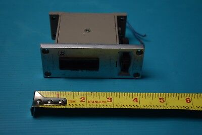 USED TEC MAGNETIC COUNTER 4 NUMBER