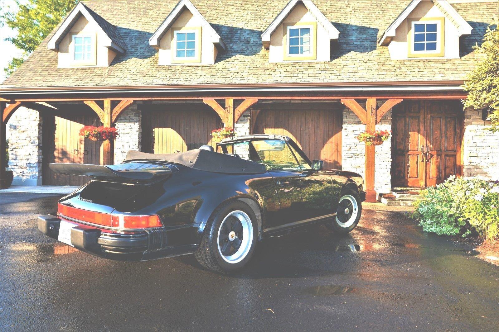1989 Porsche 911  1989 Porsche 911 Anniversary Convertible