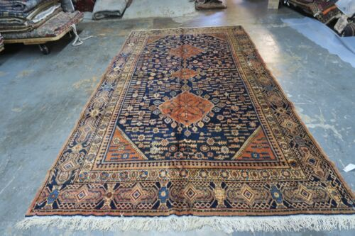 Antique Vintage Samarkand Khotan Decorative Silk Road Long Gallery Rug 6