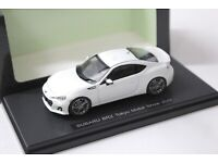 1:43 Ebbro Subaru BRZ Tokyo Motor Show 2011 white NEW bei PREMIUM-MODELCARS