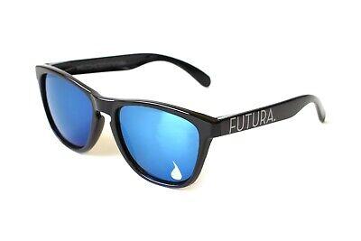 Futura Sunglasses Mirrored Lens,Black Frames, Frogskins, Knockaround, (Knockarounds Sunglasses)