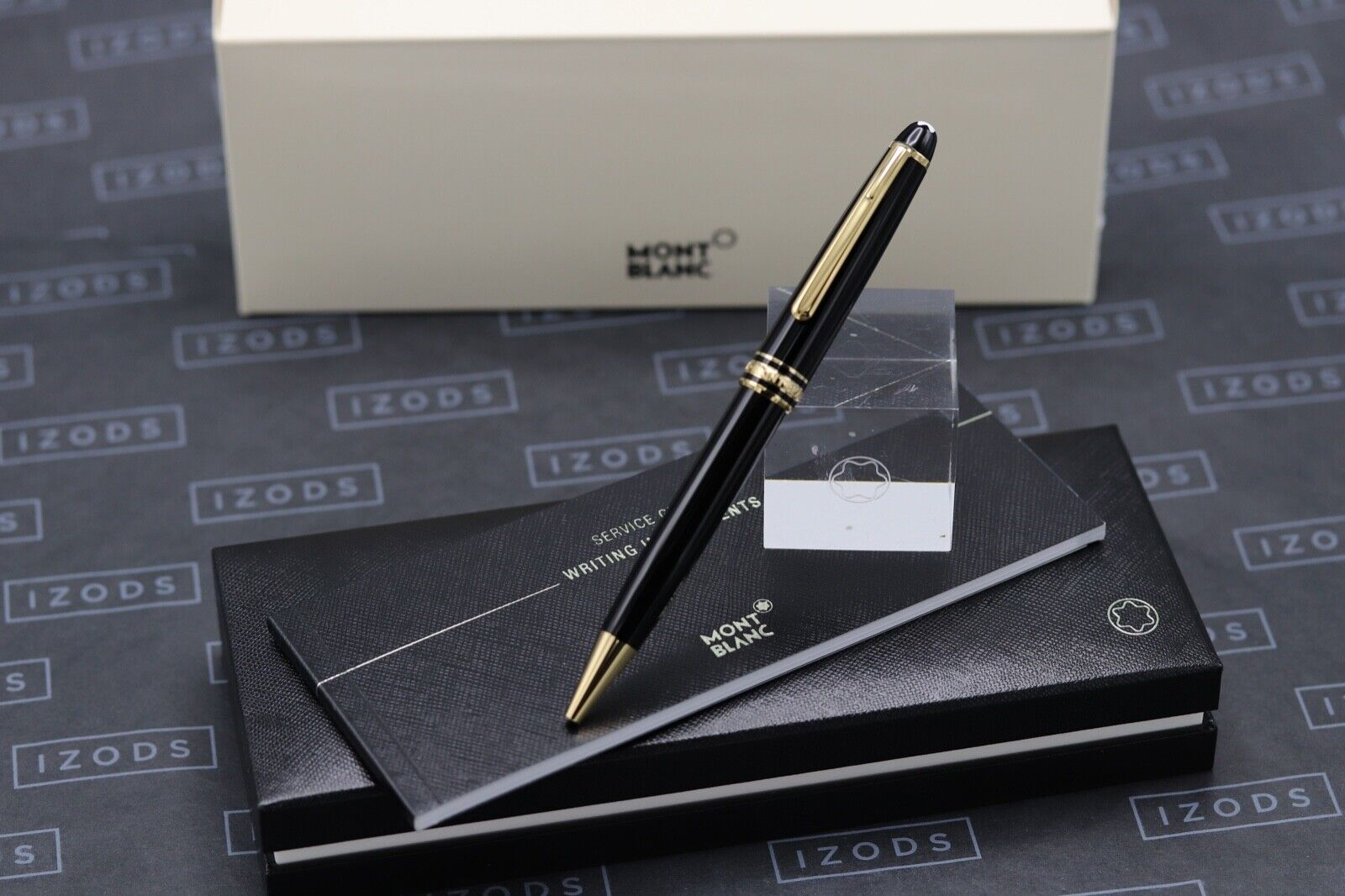 Montblanc Meisterstuck 164 Classique Gold Line Ballpoint Pen - NEW March 2021