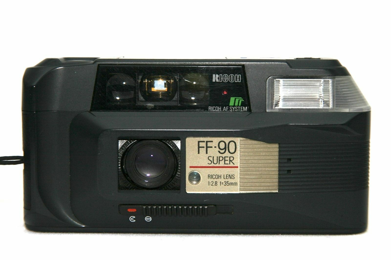 Ricoh A-2 35mm compact film case