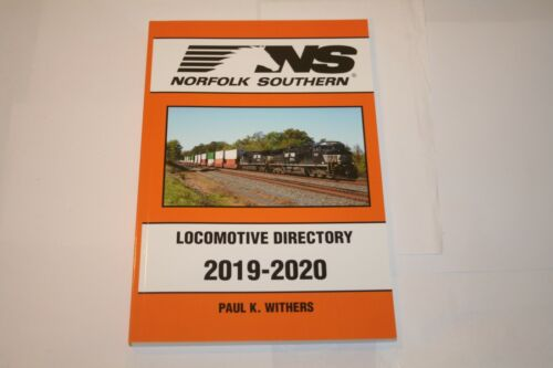 BOOK---NORFOLK SOUTHERN 2019-2020 LOCOMOTIVE DIRECTORY (WITHERS)